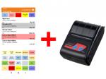 Set aplikace Conto Mobile a tiskárny Cashino